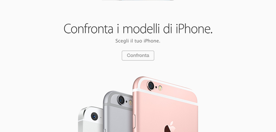iPhone 6 Vodafone: contronta i modelli di iPhone