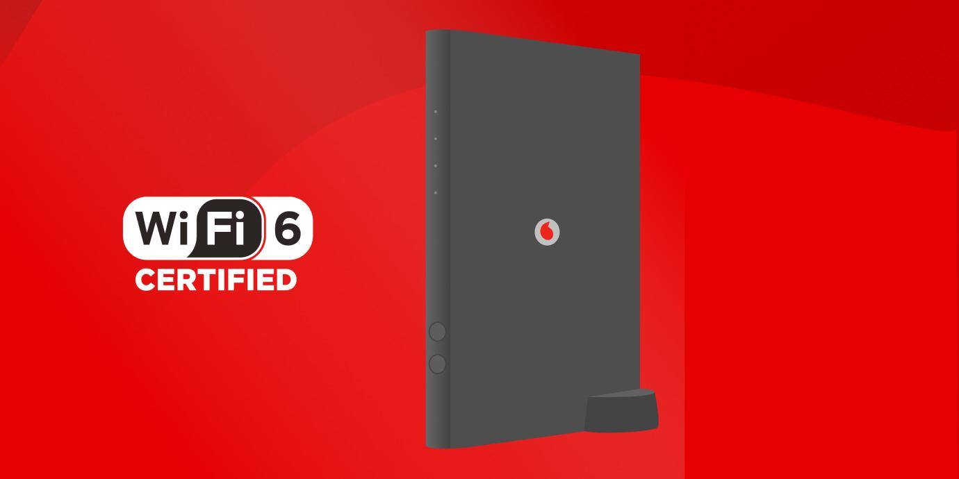 La nuova Vodafone Wi-Fi 6 Station